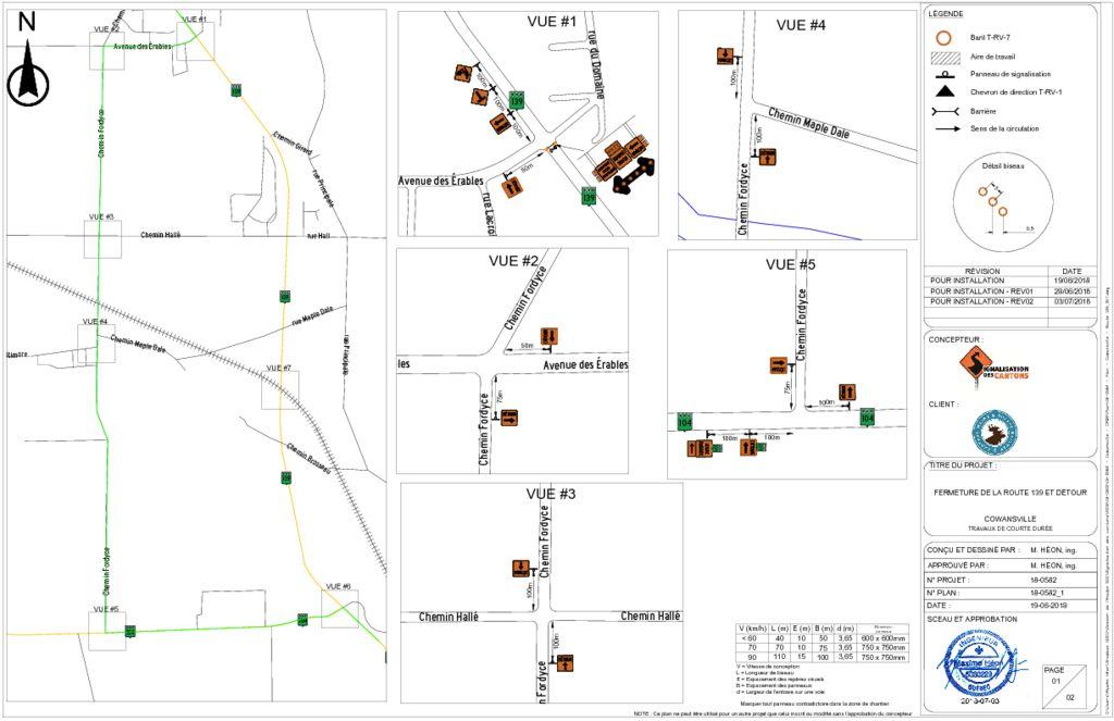 thumbnail of 18-0582_2 – Plan – Cowansville – Route 139_DET_REV02