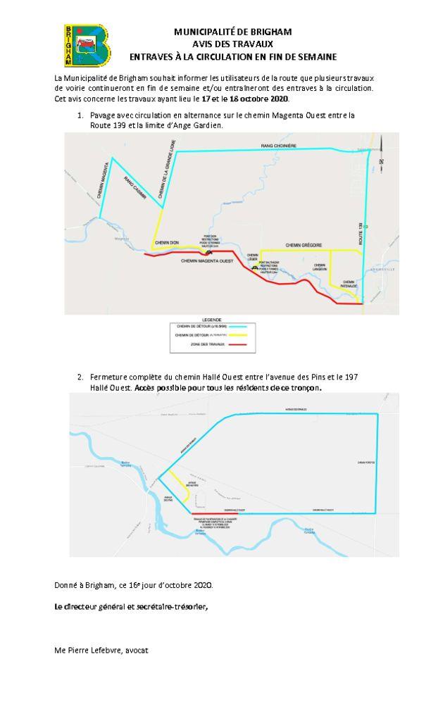 thumbnail of Avis public 5 – Fermeture chemin – Magenta O Hallé Ouest – 17-18 oct. 2020