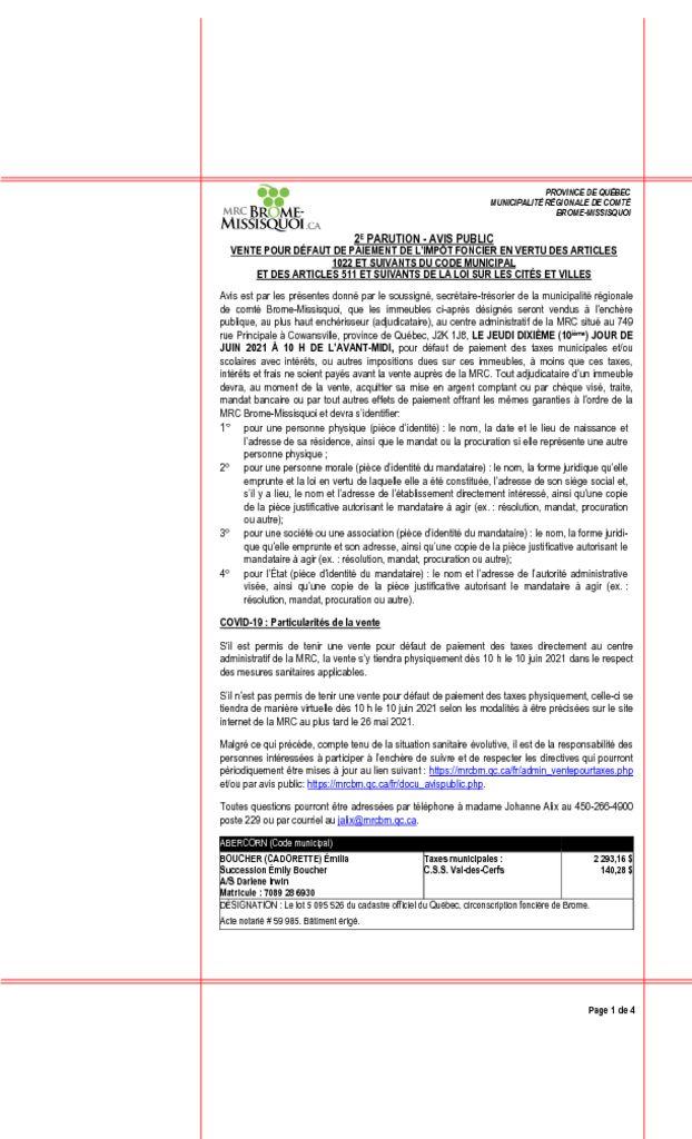 thumbnail of Avis public Journaux Vte tx 28 avril 2021_