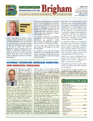 thumbnail of Bulletin Juillet 2014