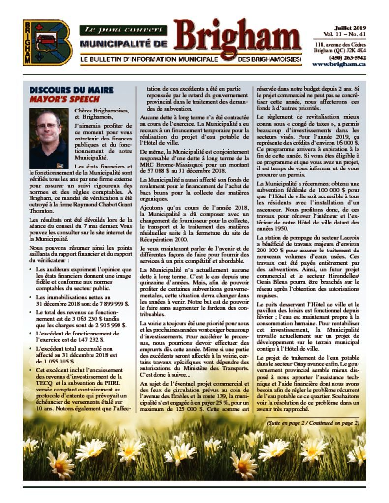 thumbnail of Bulletin Juillet 2019(c2)