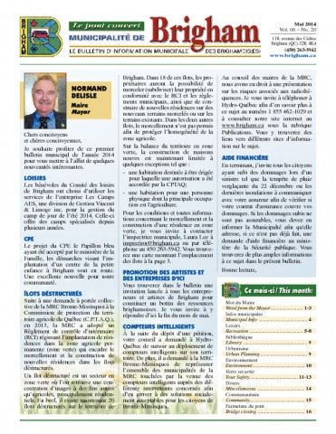 thumbnail of Bulletin Mai 2014