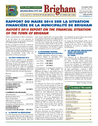 thumbnail of Bulletin Novembre 2014