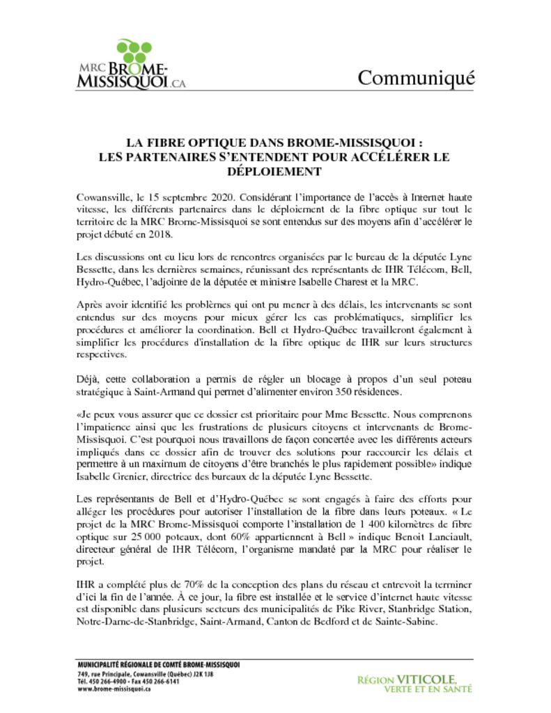 thumbnail of Communiqué IHV B-M sept 2020