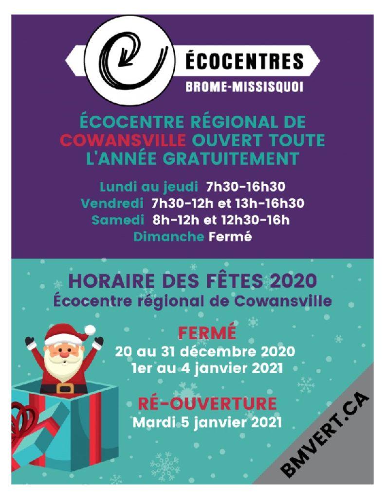 thumbnail of Ecocentre_Cowansville_Horaire_fetes