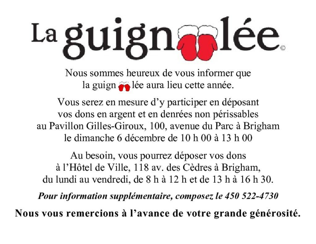 thumbnail of La guignolee 2020