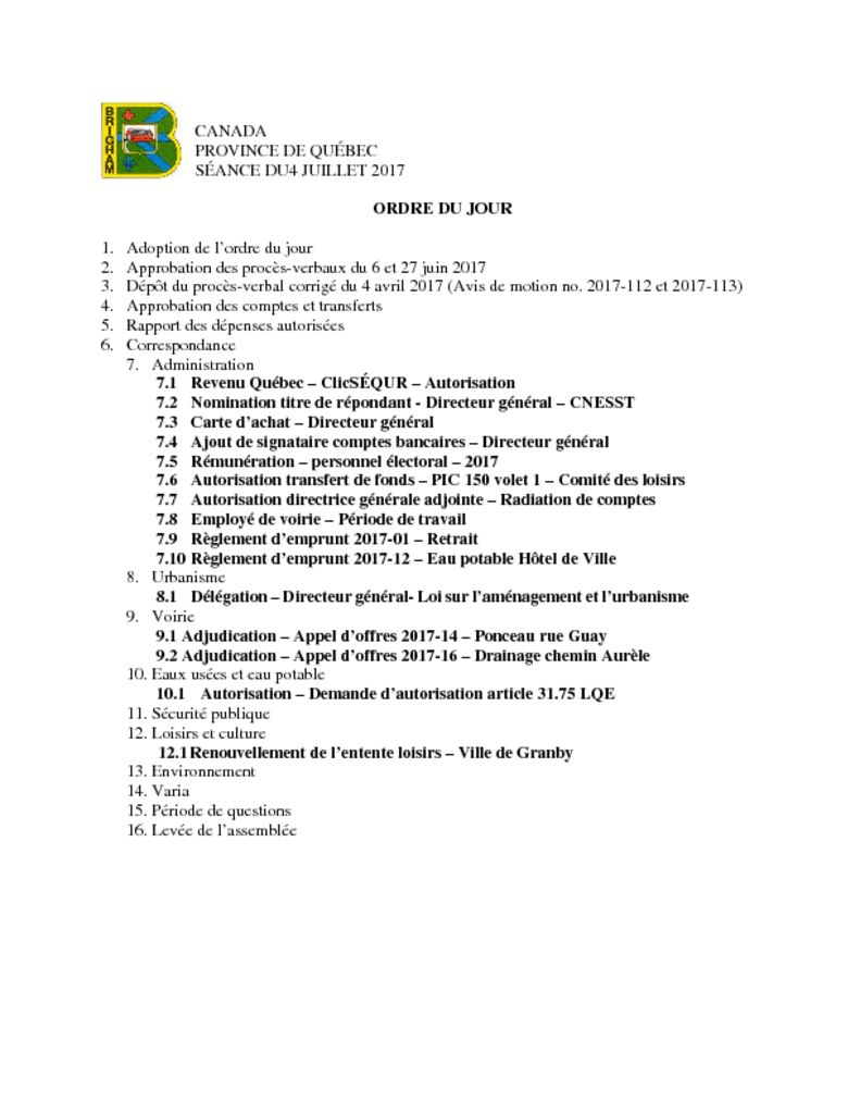 thumbnail of Ordre du jour 2017-07-04