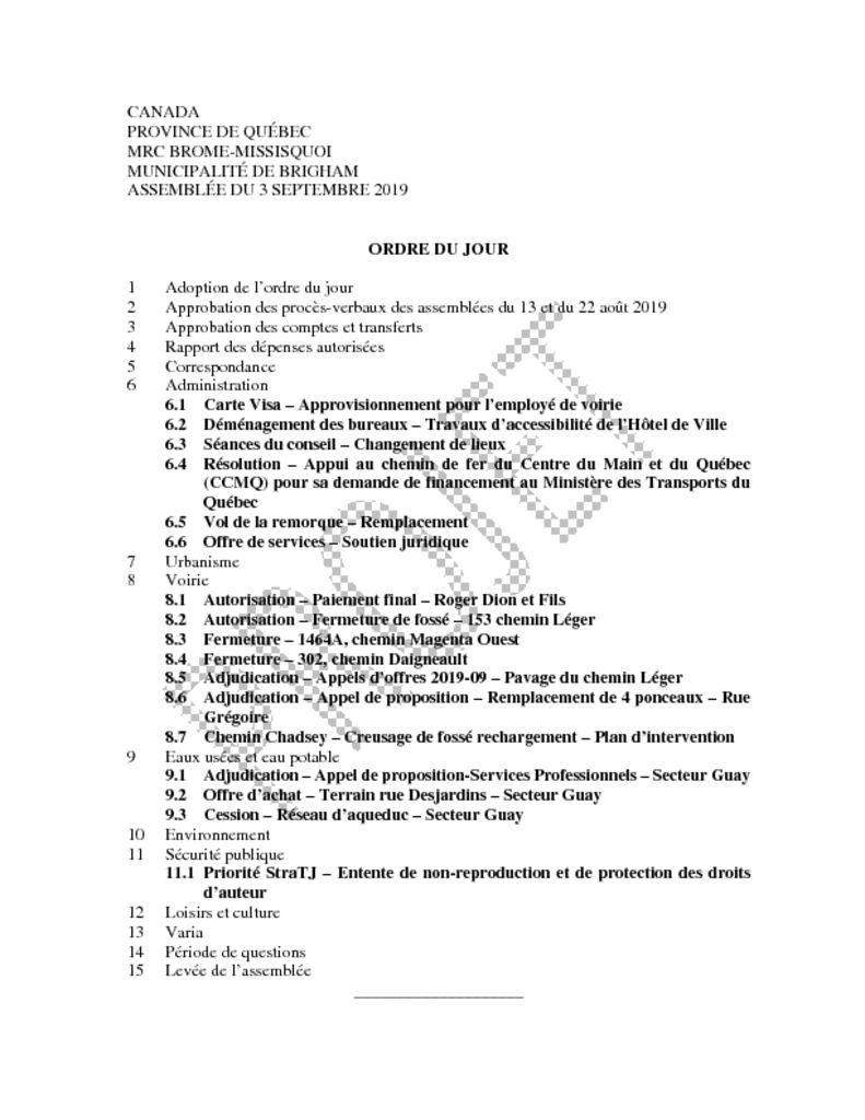 thumbnail of Ordre du jour 2019-09-03 v2