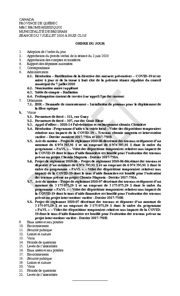 thumbnail of Ordre du jour 2020-07-07