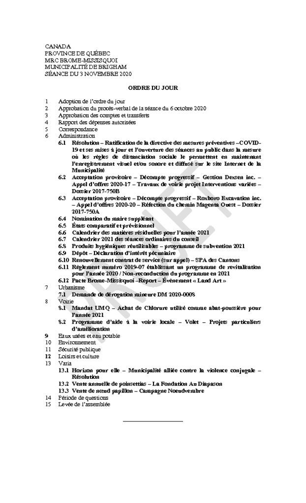 thumbnail of Ordre du jour 2020-11-03