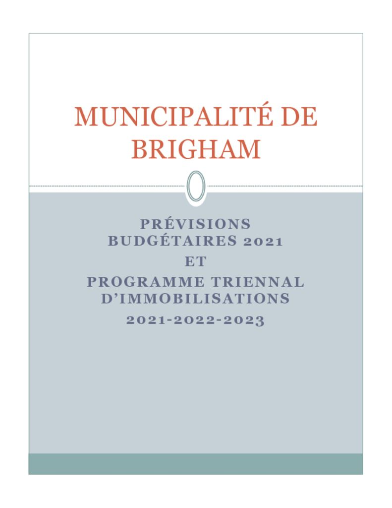 thumbnail of Previsions-budgetaires-2021_PTI-2021-2022-2023