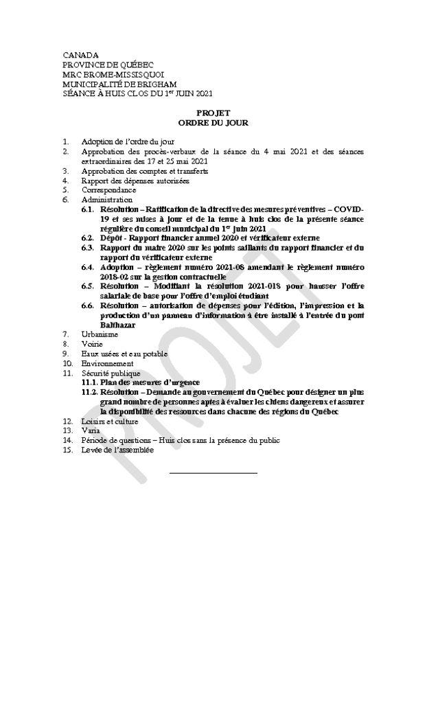 thumbnail of Projet ordre du jour 2021-06-01