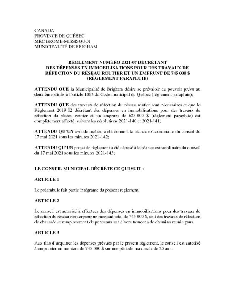 thumbnail of Reglement_2021-07