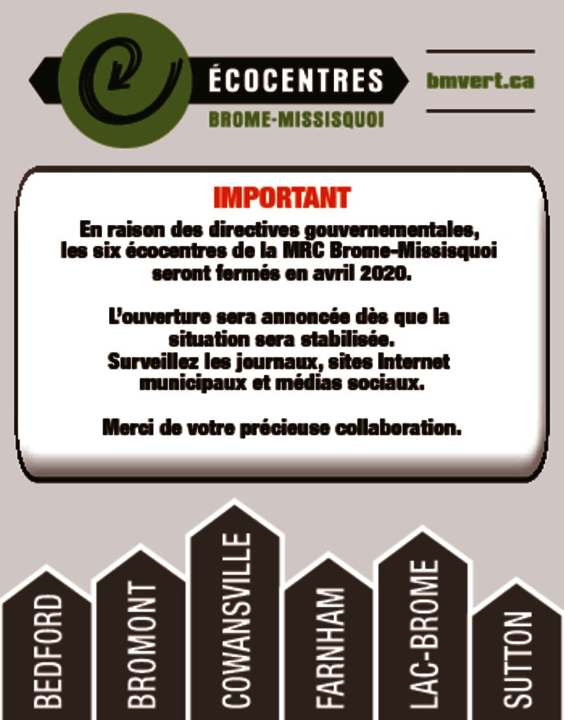 thumbnail of Report ouverture écocentres (MRC)