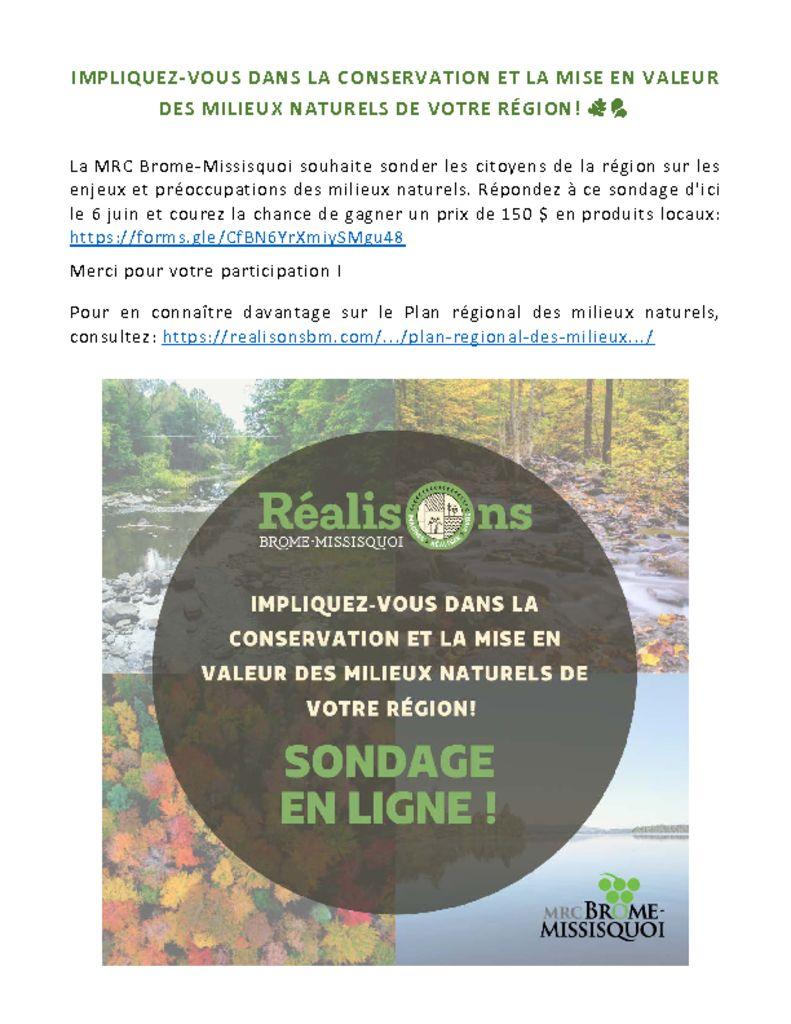 thumbnail of Reseaux Sociaux – Sondage PRMN